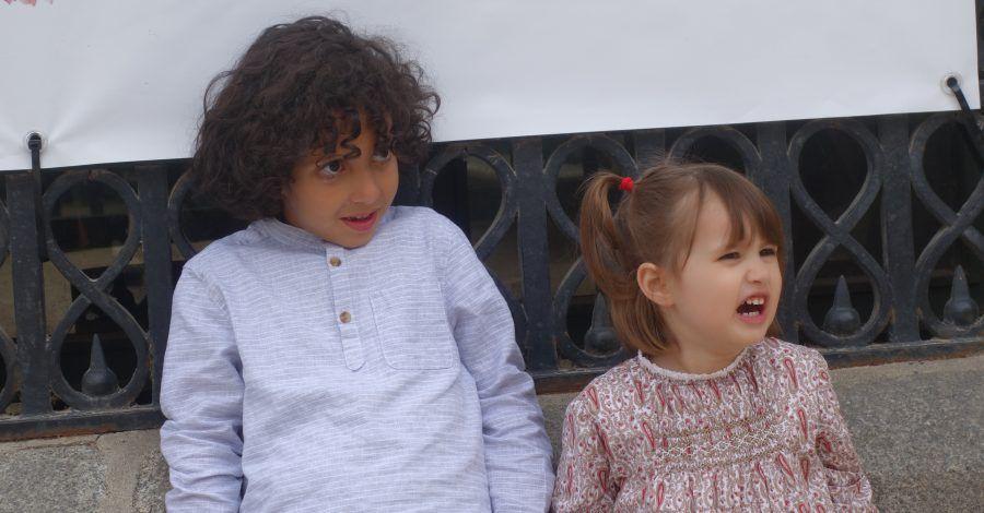 niños con rabietas