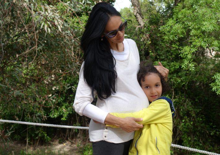 carta de una embarazada