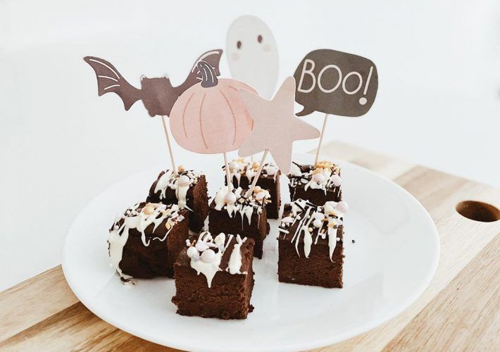 toppers cupcakes halloween